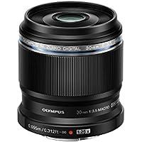 Olympus M.Zuiko Digital ED 30mm f3.5 Macro Lens, Black