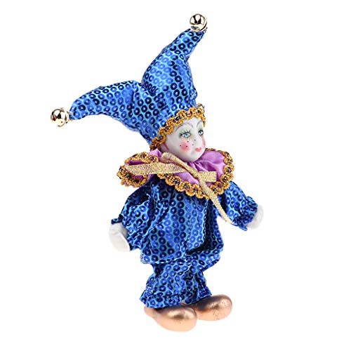 (Fityle 6 Inch Porcelain Victorian Doll Standing Ceramics Eros Dolls Wishing Doll Desk Ornament Kids Birthday Gift Toy #5)