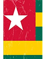 Togo Flag Journal: Blank lined Notebook to write in