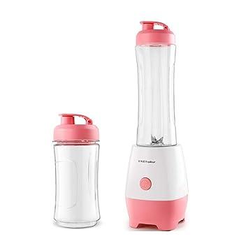 JCOCO Máquina automática de cocción de frutas, exprimidor multifuncional, máquina multiusos, configuración de copa doble, fácil de transportar (color ...