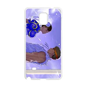 street fighter Samsung Galaxy Note 4 Cell Phone Case White xlb2-076137