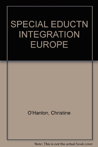 Special Education Integration in Europe