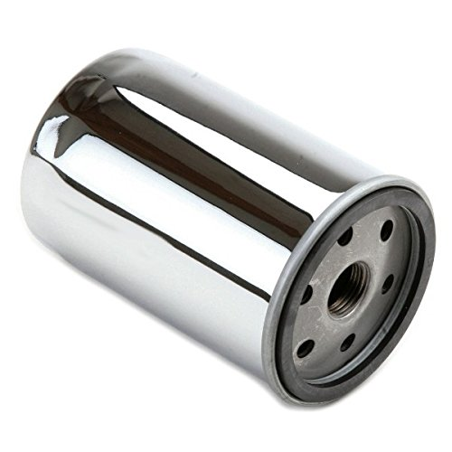 Chrome Compact Oil Filter For Full Flow Oil Pumps On Air-cooled Vw Engines