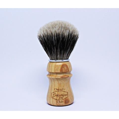 Semogue Owners Club Badger Shaving Brush (Ash Wood) by Semogue by Semogue