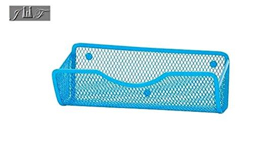 Wire Mesh Magnetic Locker Caddy, School-Office-Home Supply Organizer Desk Tray, Accessory. Keep Your Locker Organized. (Green) (Coloured Wire Baskets Storage)