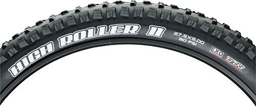 Maxxis High Roller II 27.5 x 3.00'' Tire: 60tpi, Dual Compound EXO Casing, Tubeless Ready, Black by Maxxis