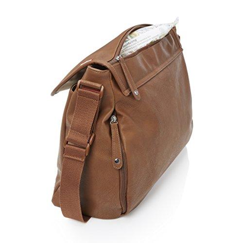 Babymel aliado marrón bolso cambiador