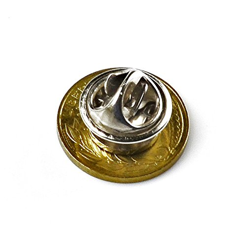 Quality Handcrafts Guaranteed France Coin Lapel Pin