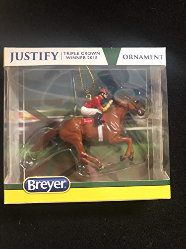 Breyer Justify Ornament 9303 - Horse Holiday Ornament
