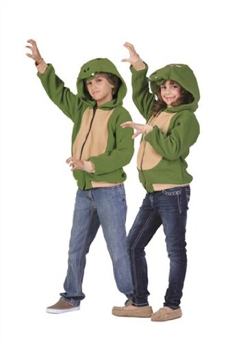 Ness Costume For Sale (RG Costumes 'Funsies' Ness The Dragon Hoodie, Child Small/Size 4-6)