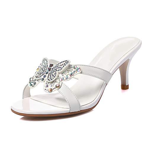 Balamasa White Donna Asl05823 Ballerine Balamasa Asl05823 5XOqx