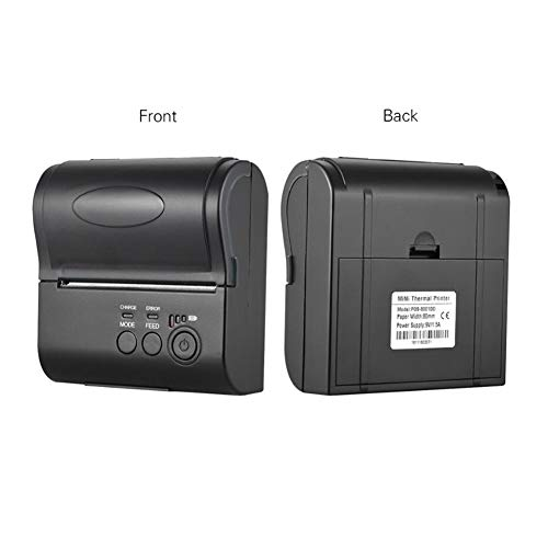 Bulary 80MM Wireless Bluetooth Thermal Printer Mini Portable Ticket Reception Bill Printing with Operating Indicator by Bulary (Image #3)