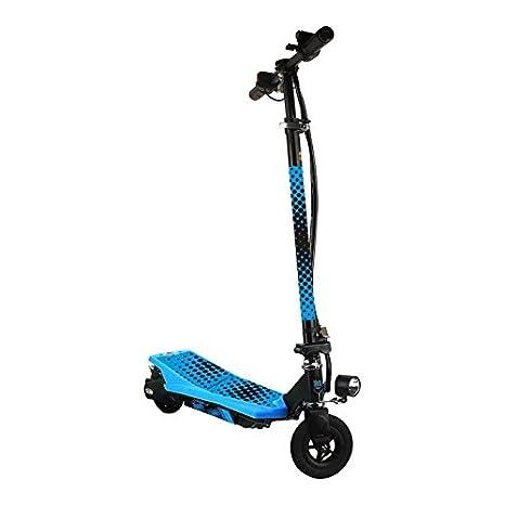 SMARTGYRO Viper Patín Scooter eléctrico, Unisex niños, Azul, 6