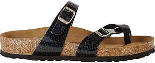 252df833dae Birkenstock Mayari Birko-Flor Narrow Magic Snake Black Size EU 36 - US L5