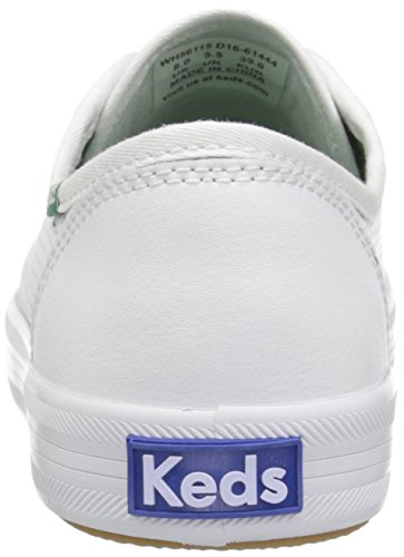 Keds Women's Kickstart Leather Fashion Sneaker White lNAsreK