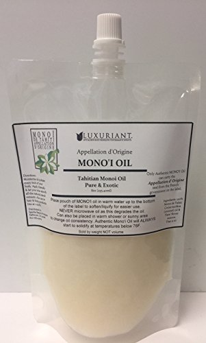 Monoi De Tahiti Oil-100% Natural-8 oz