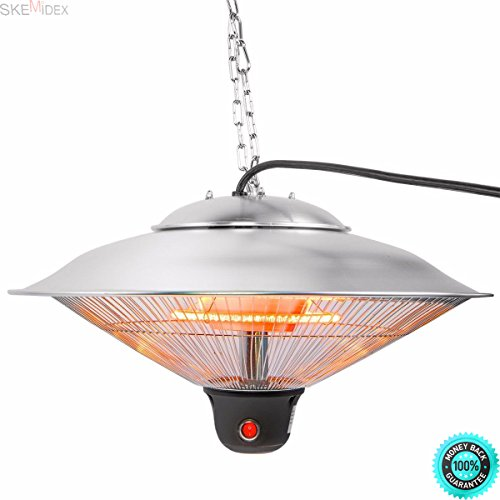 SKEMIDEX---20'' Electric Patio Infrared Outdoor Ceiling Heater Indoor Hanging Garden remote And patio heaters walmart patio heaters home depot commercial patio heaters patio heaters costco propane by SKEMIDEX