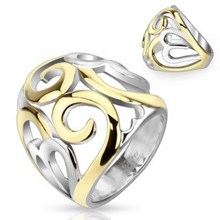 str-0048-stainless-steel-two-tone-ip-smoke-swirl-hearts-frontal-ring-comes-with-free-gift-box-8