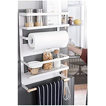 Amazon.com: Kitchen Rack - Magnetic Fridge Organizer - 18x12 ...
