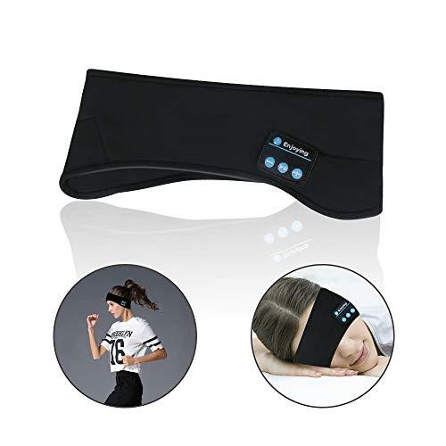 Allnice Bluetooth Headband Headphone Sport Headbands with Wireless Music Headsets for Running Gym Sleeping Yoga Travel Hiking Cycling Jogging Walking