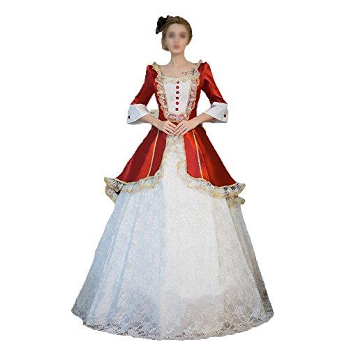 告白依存する組み合わせ貴族お嬢風 ミス エレガント 華やか洋装ワンピース 中世 プリンセス  ヨーロッパ系お女王様 王女様 ドレス  ワンピース  発表会  (オーダーメイドサイズ)