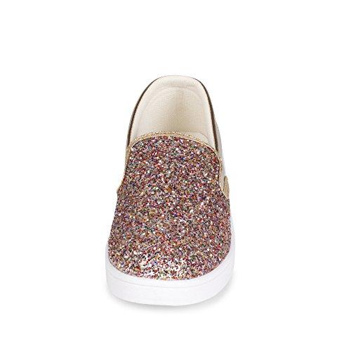 Ville Spangle Slip På Glitter Detaljer Sneaker Multi