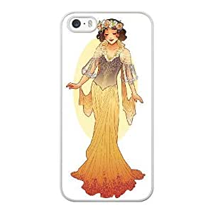 The best gift for Halloween and Christmas iPhone 5 5s Cell Phone Case White disney princess Snow White WYW8608365