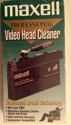 Maxell VCR Pro Head Cleaner (Wet Type)