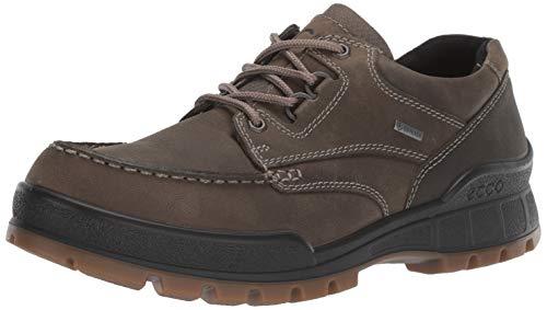 ECCO Men's Track 25 Primaloft Low GORE-TEX waterproof insulated outdoor hiking shoe, Tarmac/Primaloft G, 42 M EU (8-8.5 US)
