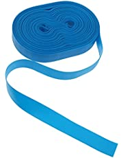 EXCEART 50Pcs Disposable Tourniquet Elastic First Aid Quick Release Medical Sport Emergency Tourniquet Band Hemostatic Blood Strap Bandage for Home Outdoors Car Blue