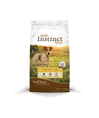 Cheap Instinct Original Small Breed Grain Free Chicken Meal Formula Natural Dry Dog Food by Nature's Variety, 12 lb. Bag