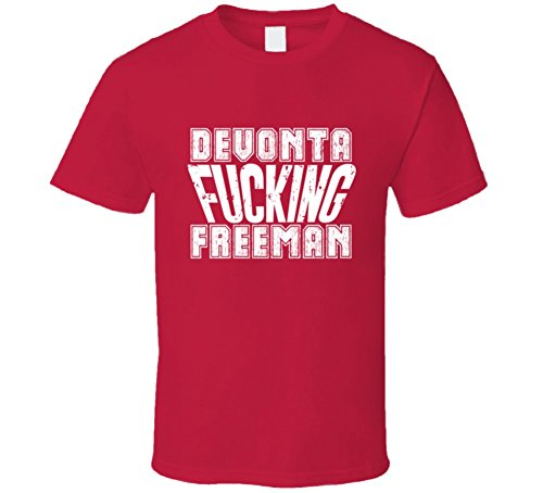 Fcking Devonta Freeman Atlanta Football Team Favorite Player Fan T Shirt M Red