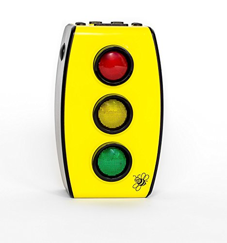 BeeZee Kids Stoplight Golight Kids Traffic Light Timer - Helps with Toddler Sleep Training, Focus, & Attention (Time Night Light)