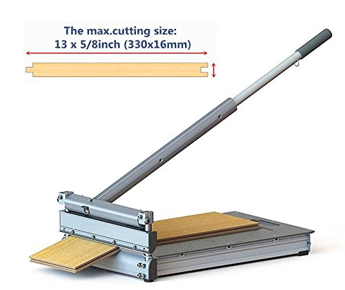 13 inch Pro Flooring Cutter,For Laminate, Engineered Wood,Deck-Floor-Boards, fiber-cement siding, VCT, LVT, RVP, SPC, LVP, WPC, Vinyl Tile Flooring and more.MC-330