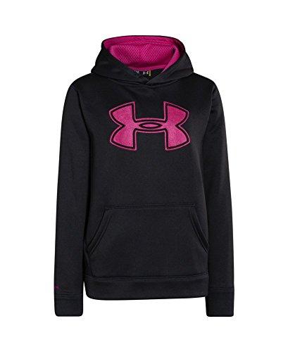 Under Armour Boys' UA Storm Armour Fleece Big Logo Hoodie X-Small Asphalt Heather by Under Armour