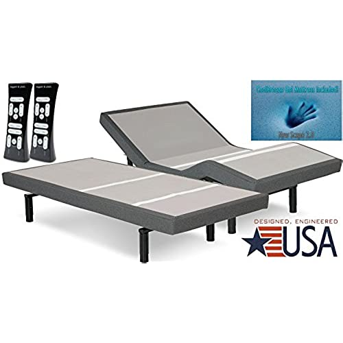 Adjustable Bed Bases Amazon Com