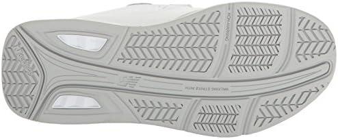 New Balance Women's 928v3 Walking Shoe, White/White Hook/Loop, 10 4E US