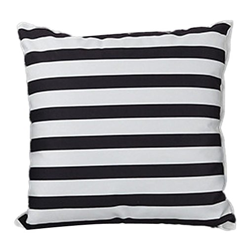 18 Inch Cashmere - Gallity 45cm X 45cm Fahion Stripe Super cashmere Throw Pillow Cases Cafe Bed Sofa Cushion Cover Home Decor 18 X 18 Inches (D)