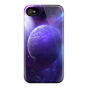 Luoxunmobile333 Ipod Touch 4 Hybrid Cases Covers Bumper Space
