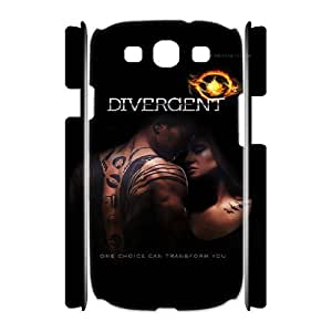 Printed Phone Case Divergent Diaries For Samsung Galaxy S3 I9300 Q5A2112360