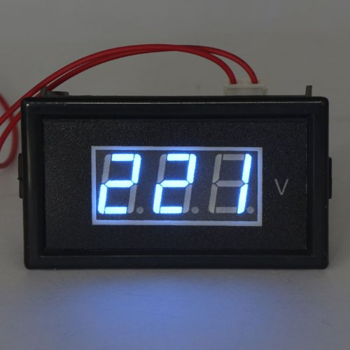 DROK Digital Voltmeter AC 75V to 300V Micro AC