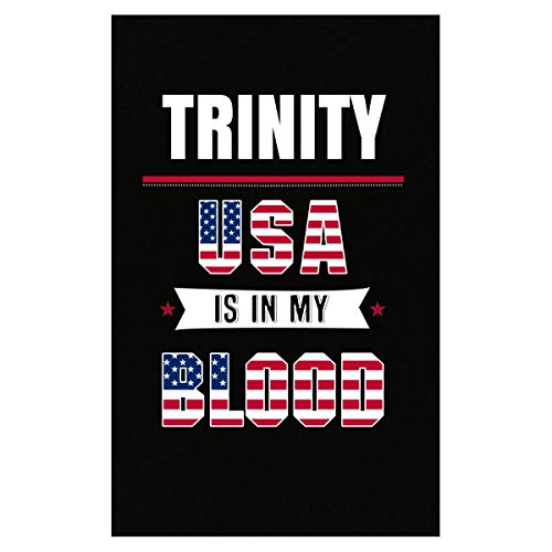 (Inked Creatively Trinity USA in My Blood Independence Day Gift - Poster)