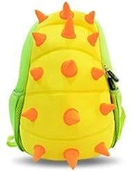 NOHOO 3D Hedgehog Kids Backpack Cartoon School Bag