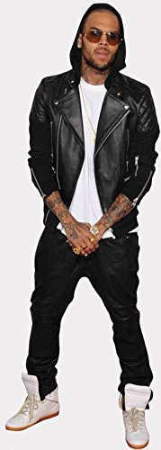Chris Brown Life Size Cutout by Celebrity Cutouts by Celebrity Cutouts