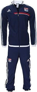 adidas Ol Pres Suit Y - Chándal para niño, diseño de Olympique de ...