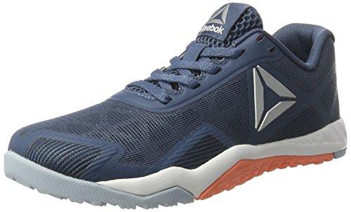 Reebok Bd5128, Zapatillas de Deporte para Mujer Azul (Brave Blue / Gable Grey / Stellar Pink / Pure)