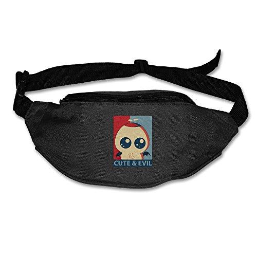Cute Evil Cthulhu Fanny Pack Belt Bag Waist Pack Black (Evil Fairy Tale Characters)