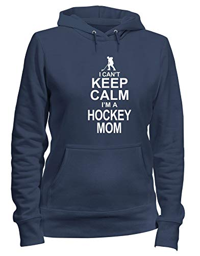 I A Cappuccio Calm Cant Donna Im Felpa Gen0219 Mom Blu Hockey shirtshock Navy T Keep nt70vgwHq
