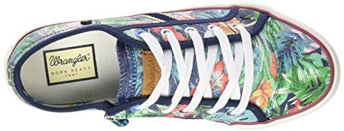 Wrangler Starry Low - Zapatilla Baja Niños Varios Colores - Mehrfarbig (379 FLOWERS)