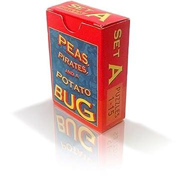 Senntertain Peas Pirates Set A and a Potato Bug Card Game